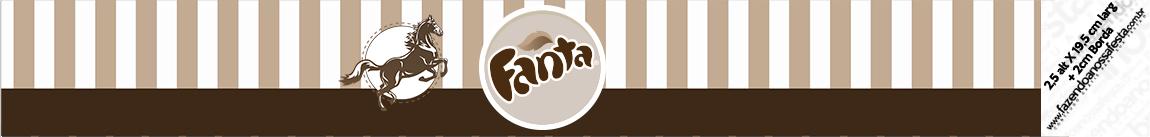 Rotulo Fanta Kit Festa Cavalo