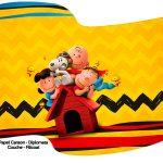 Bandeirinha Sanduiche 2 Snoopy e sua Turma