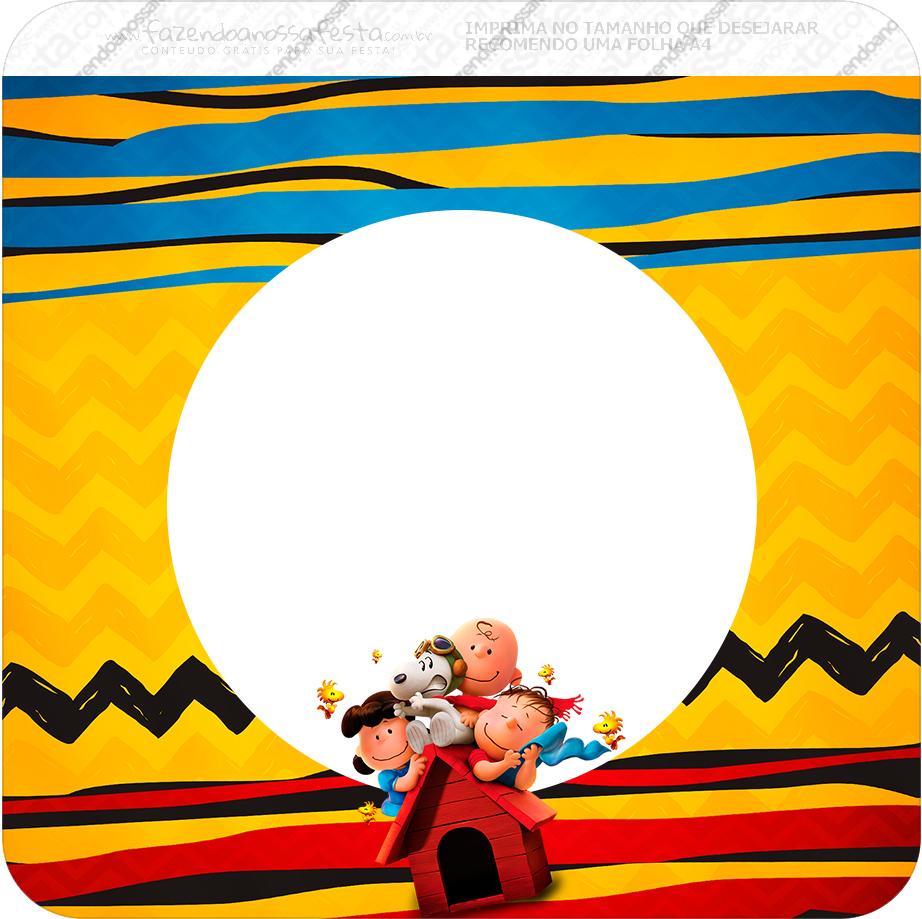 Bandeirinha Varalzinho Snoopy e sua Turma