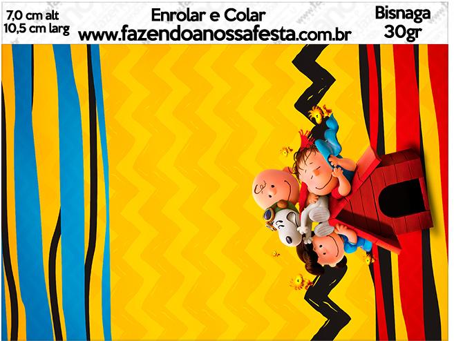 Bisnaga Brigadeiro 30gr Snoopy e sua Turma