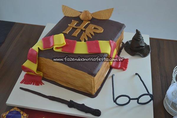 Bolo Festa Harry Potter da Manuela