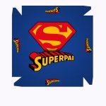 Caixa Bombom Super Pai Kit Presente Dia dos Pais - parte 1