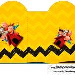 Caixa Coracao Snoopy e sua Turma