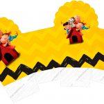 Caixa Cupcake Snoopy e sua Turma