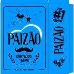 Caixa Paizao Presente Dia dos Pais - Azul Menino 1-2