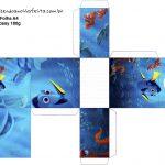 Caixa Tubete Procurando Dory
