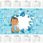 Calendario 2016 Adeus Fraldinha