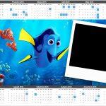 Calendário 2016 Procurando Dory