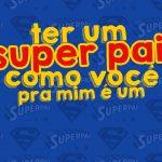 Cartão Prestígio Super Pai Kit Presente Dia dos Pais