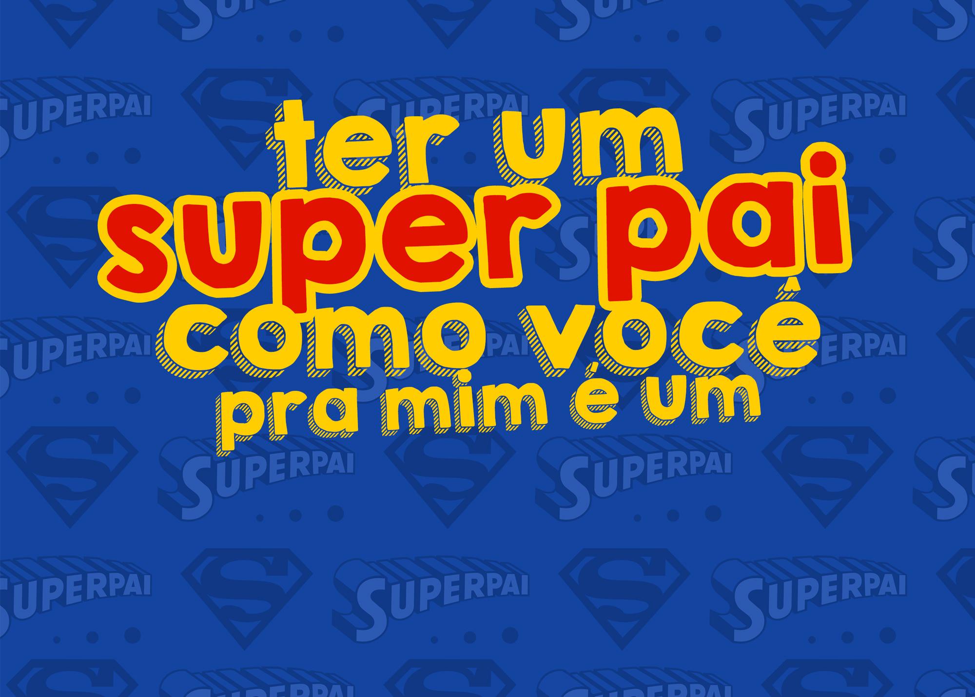 Cartao Prestigio Super Pai Kit Presente Dia Dos Pais Fazendo A