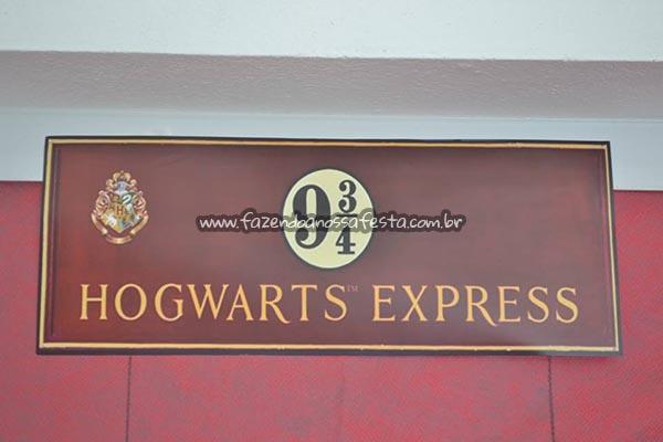 Centro de mesa Festa Harry Potter da Manuela