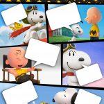 Convite Gibi Snoopy e sua Turma