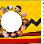 Convite Ingresso Snoopy e sua Turma