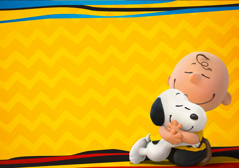 Convite Snoopy