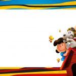 Convite Snoopy e sua Turma 2
