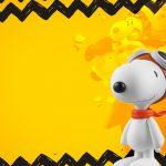 Convite ou Moldura Snoopy e sua Turma
