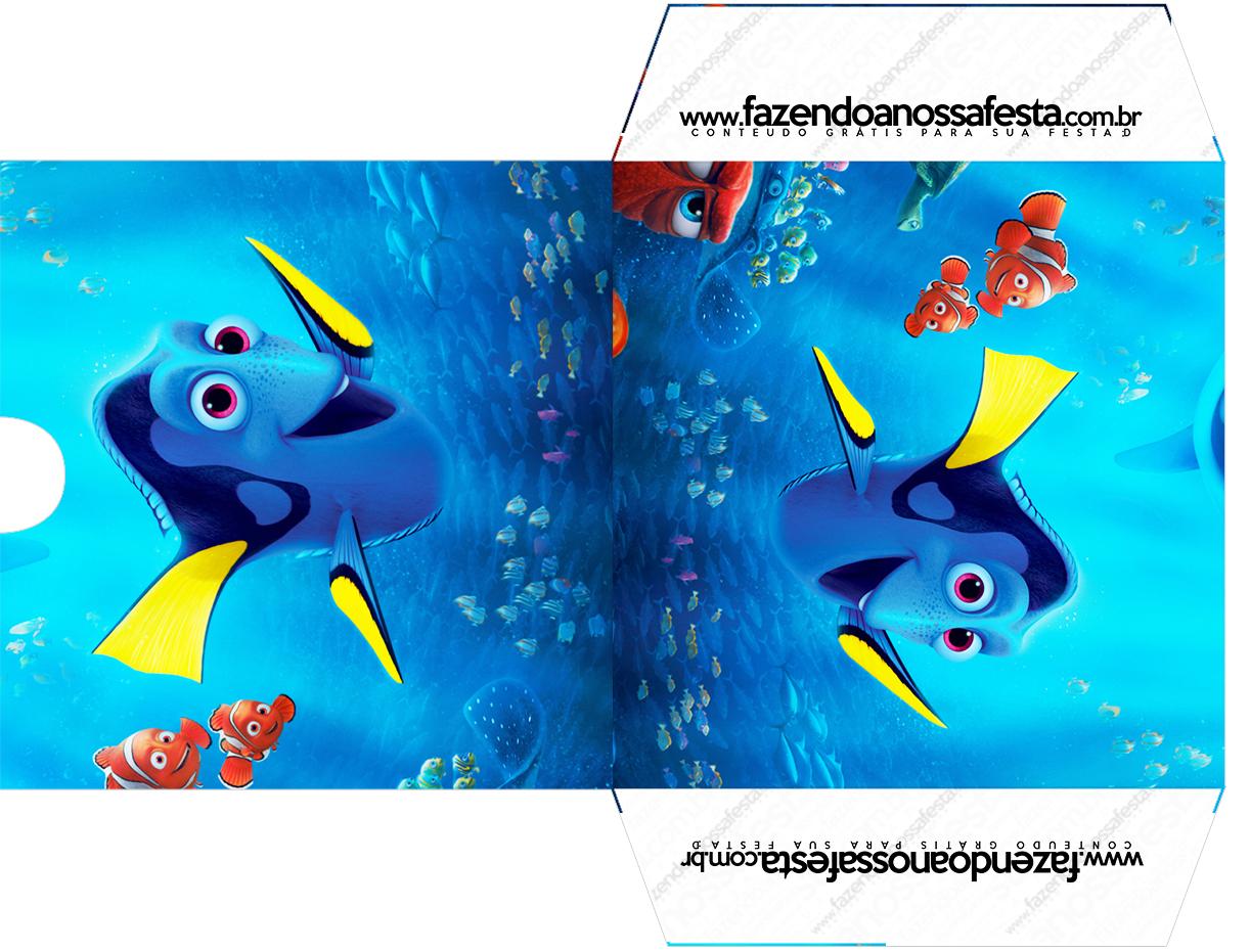 Envelope CD DVD Procurando Dory