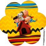 Flor Snoopy e sua Turma
