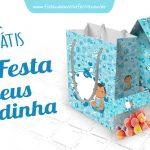 Kit Festa Adeus Fraldinha Modelo