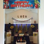 Mesa Decoracao Festa Infantil Vingadores do Luca