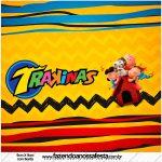 Mini Trakinas Kit Festa Snoopy e sua Turma