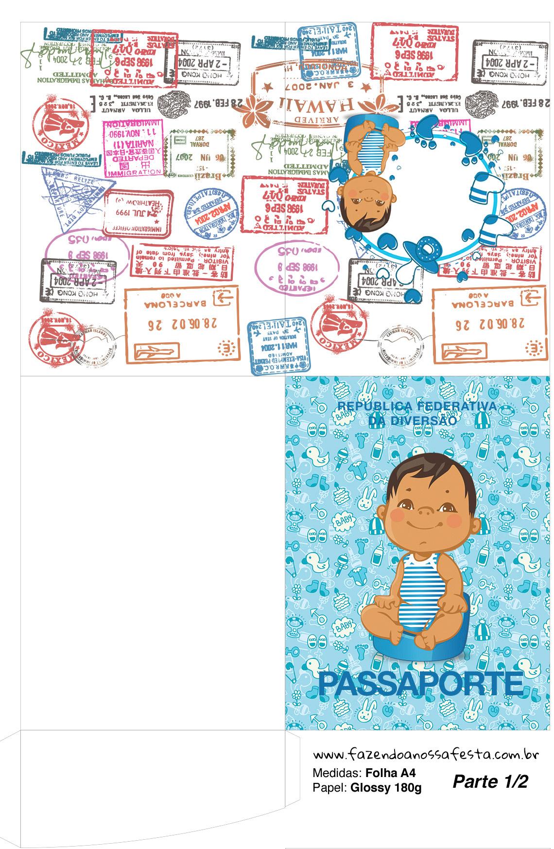 Passaporte Adeus Fraldinha