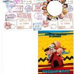 Passaporte Kit Festa Snoopy e sua Turma