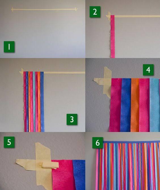 5 ideias para voc ver antes de fazer o seu painel de festa for Papel barato pared
