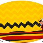 Placa Elipse Snoopy e sua Turma