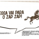 Plaquinhas Cavalos 11