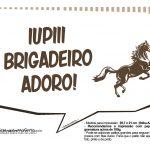 Plaquinhas Cavalos 2
