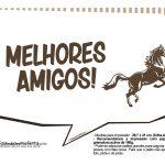 Plaquinhas Cavalos 3