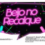 Plaquinhas Neon para Meninas