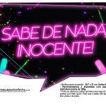 Plaquinhas Neon para Meninas 17