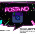 Plaquinhas Neon para Meninas 19