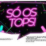 Plaquinhas Neon para Meninas 6
