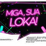 Plaquinhas Neon para Meninas 8