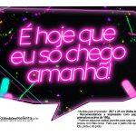 Plaquinhas divertidas Neon para Meninas 3