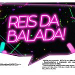Plaquinhas divertidas Neon para Meninas 6