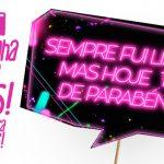 Plaquinhas divertidas Neon para Meninas