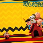 Revista Colorindo Kit Festa Snoopy e sua Turma