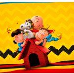 Rótulo Espumante Snoopy e sua Turma