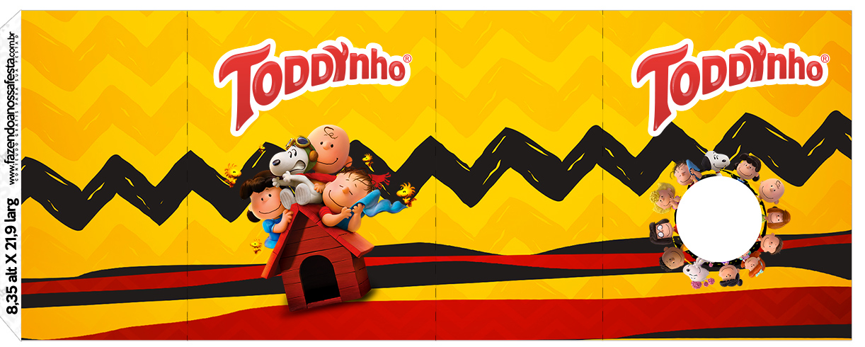 Toddynho Snoopy e sua Turma