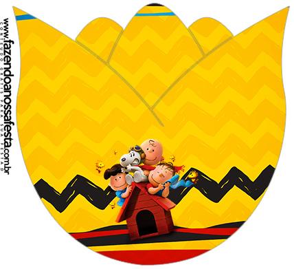Tulipa Kit Festa Snoopy e sua Turma