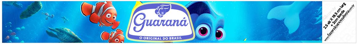 Rótulo Guaraná Caçulinha