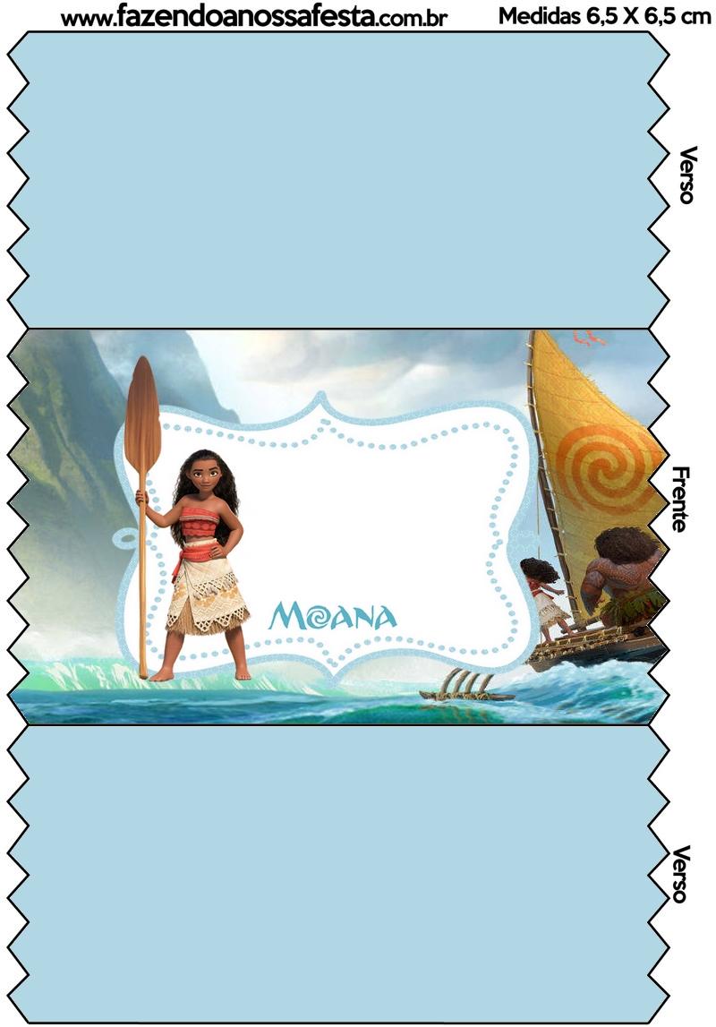 Bala Personalizada Mini Kit Moana