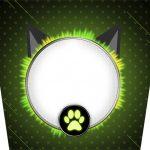 Balde de Pipoca Miraculous Cat Noir