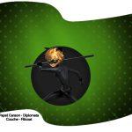 Bandeirinha Sanduiche Miraculous Cat Noir