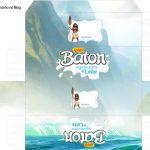 Caixa Baton Kit Moana