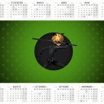 Calendario 2016 2 Miraculous Cat Noir